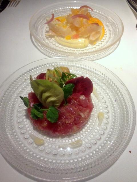 Rivea London - London Food Blog - Tuna & sea bream