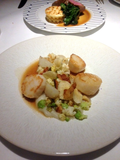 Rivea London - London Food Blog - Scallops