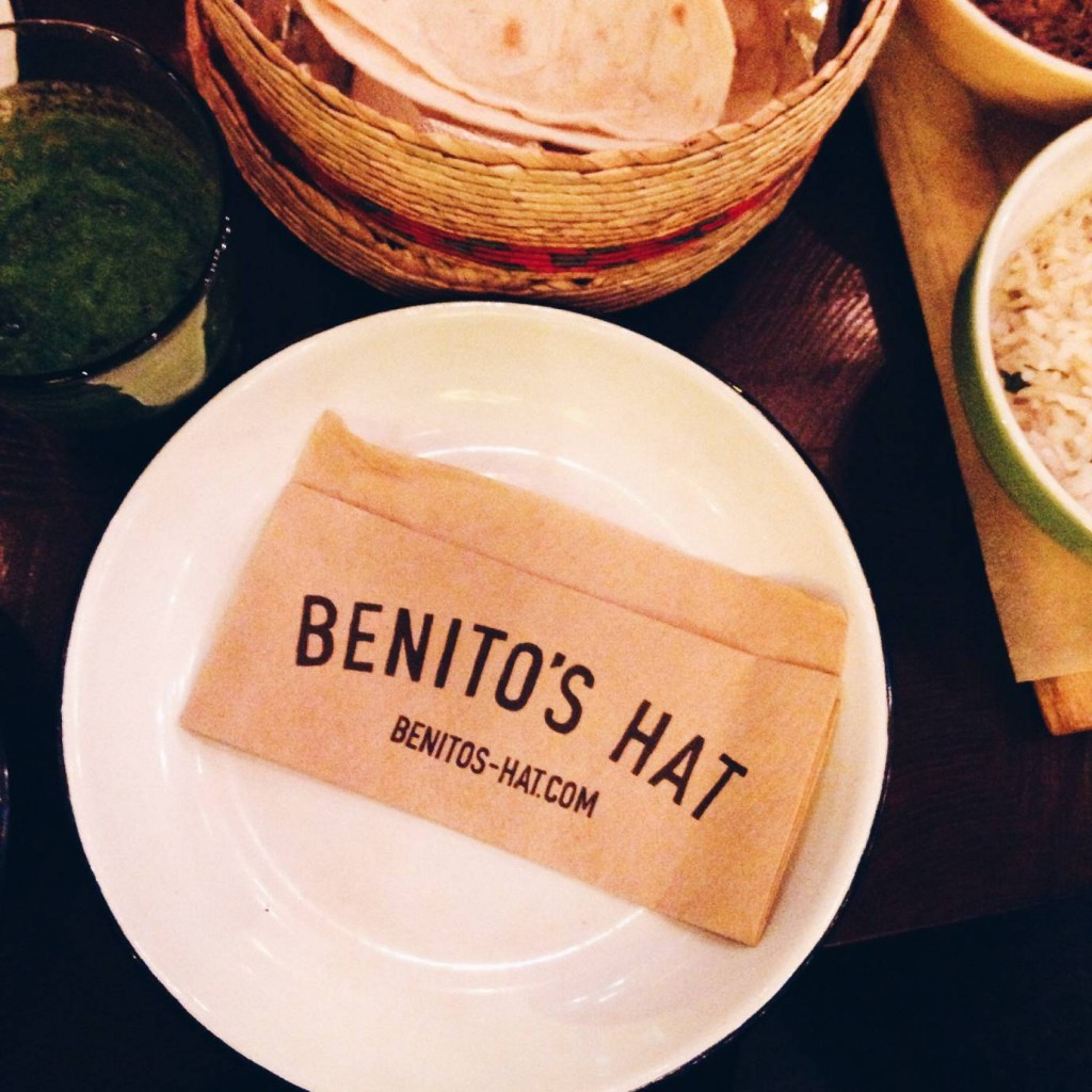 Benito's Hat - London Food Blog