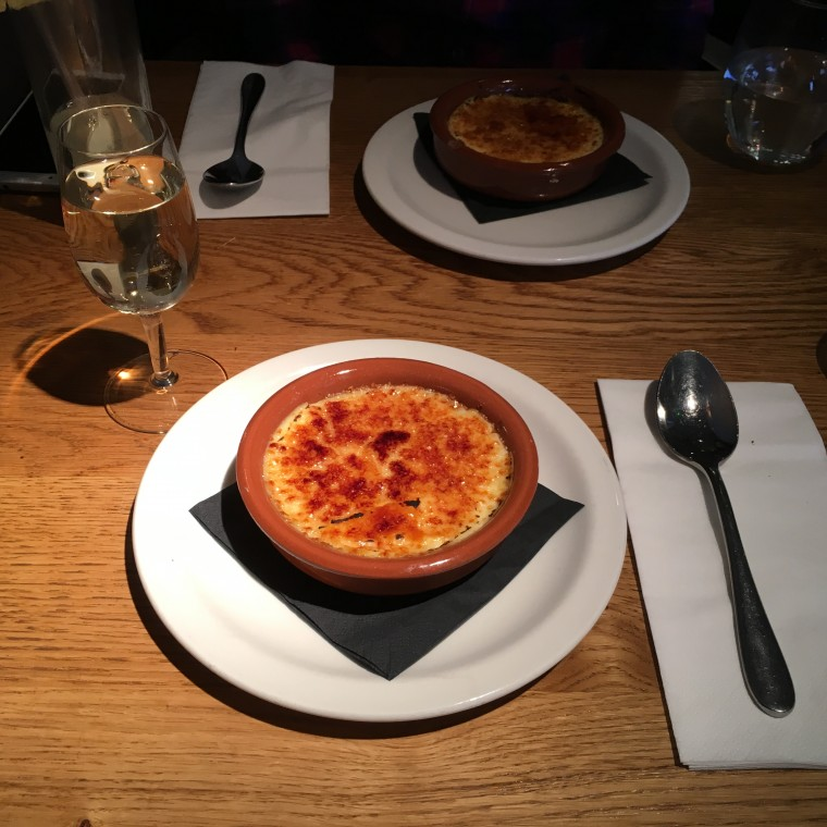 Morada Brindisa Asador - London Food Blog - Crema Catalana