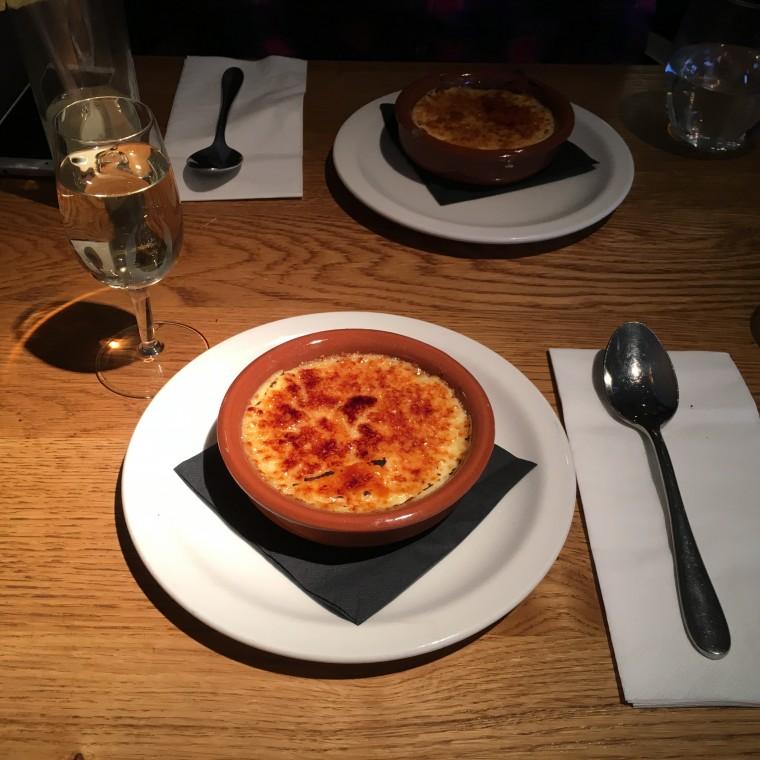 Morada Brindisa Asador - London Food Blog - Crema Catalana