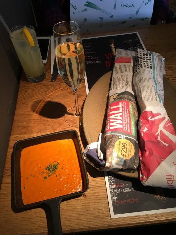 Morada Brindisa Asador - London Food Blog - Arrival of calcots