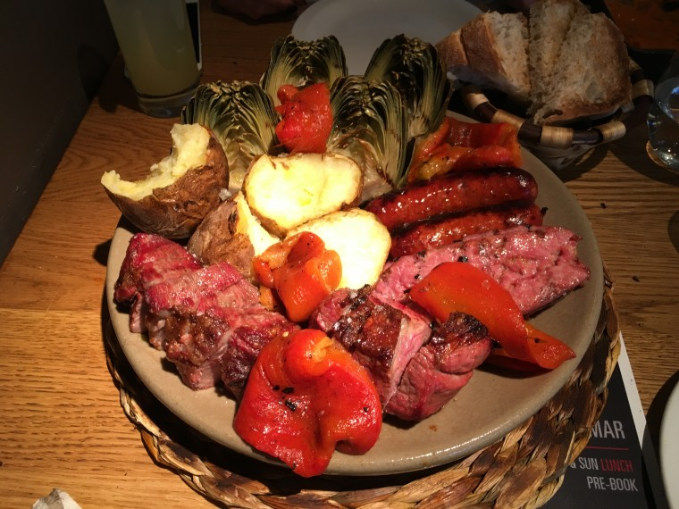 Morada Brindisa Asador - London Food Blog - The meat