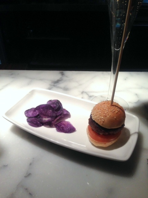 Donostia - London Food Blog - Mini wagyu burger