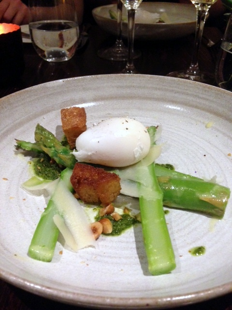 London House - London Food Blog - Wye Valley asparagus