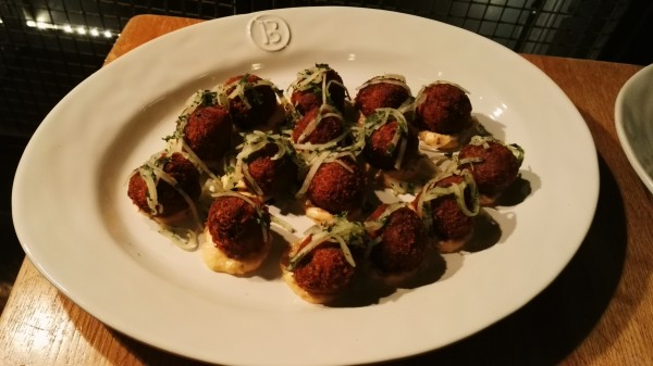 Barbecoa - London Food Blog - Short rib croquettes