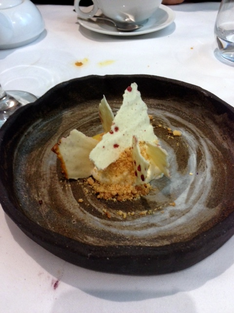 Tiradito - London Food Blog - Deconstructed cheesecake