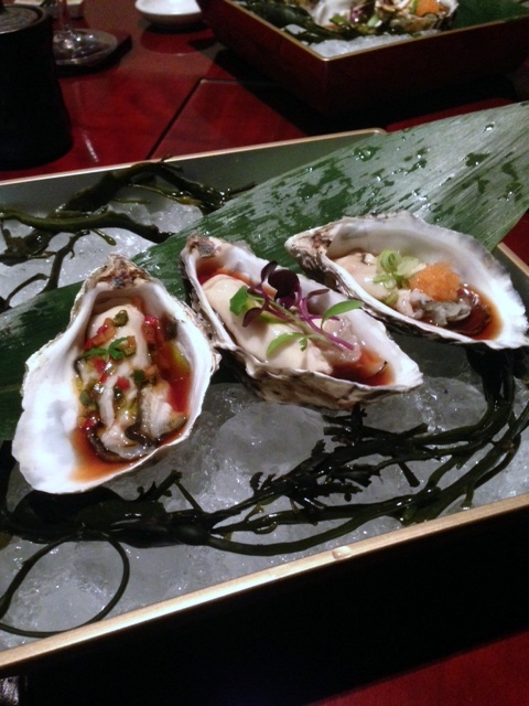 Tsukiji Sushi - London Food Blog - Rock oysters
