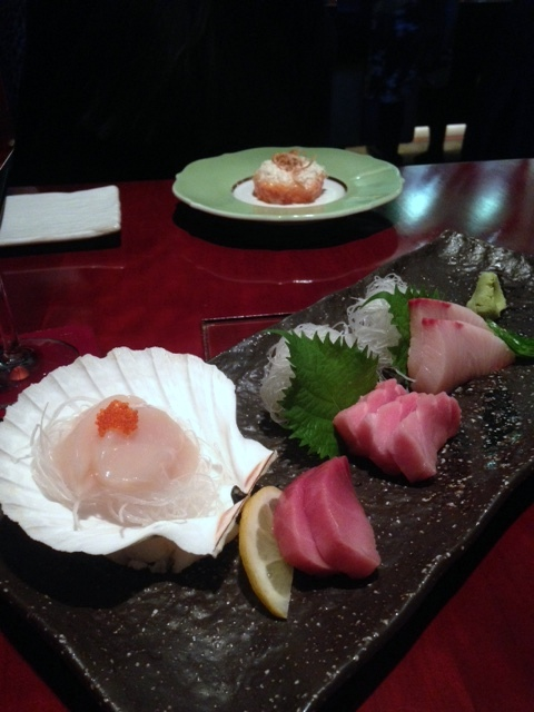 Tsukijii Sushi - London Food Blog - Sashimi selection