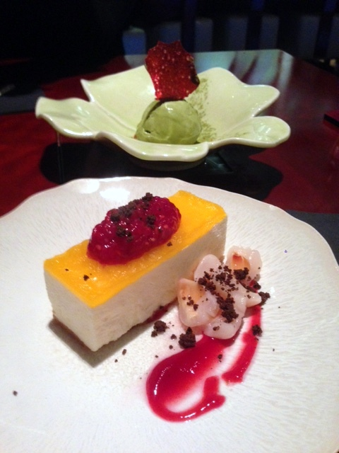 Tsukiji Sushi - London Food Blog - Vanilla cheesecake