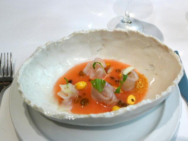 Tiradito - London Food Blog - Seabass tiradito