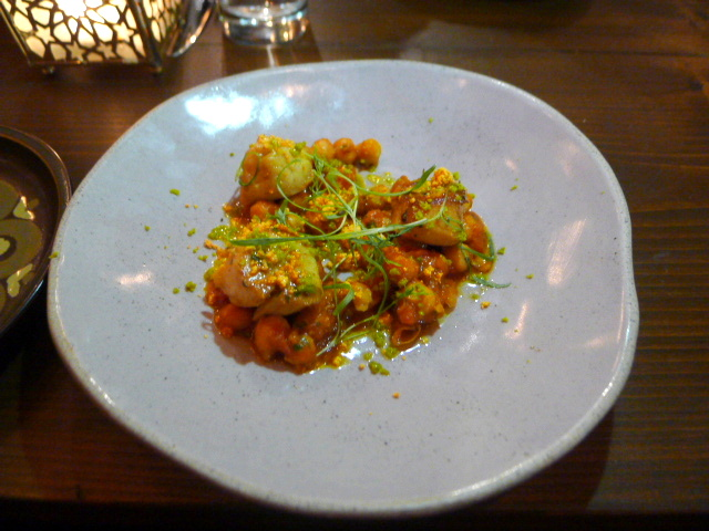 Zayane - London Food Blog - Scallops