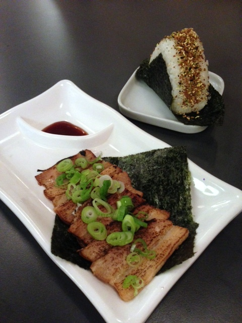 Kanada-Ya - London Food Blog - Pork & onigiri