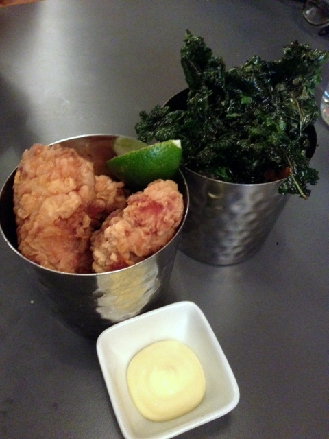Kanada-Ya - London Food Blog - Chicken & kale