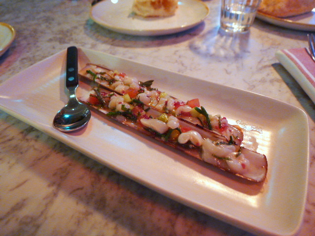 The Ninth - London Food Blog - Razor clam ceviche