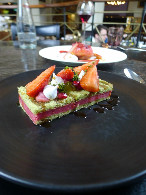 The Balcon - London Food Blog - Pistachio sponge