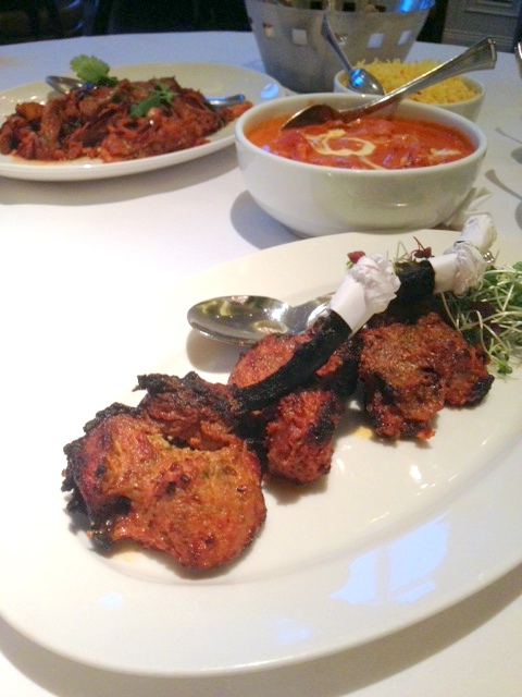 Bombay Brassiere - London Food Blog - Lamb chops