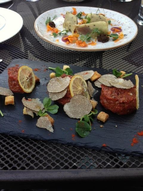 Crockers Folly - London Food Blog - Beef Tartar