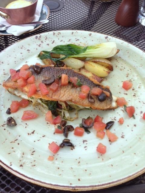Crockers Folly - London Food Blog - Sea bass