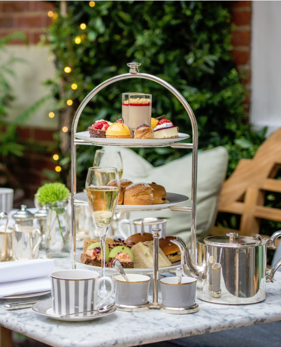 Dalloway Terrace - London Food Blog - Afternoon Tea