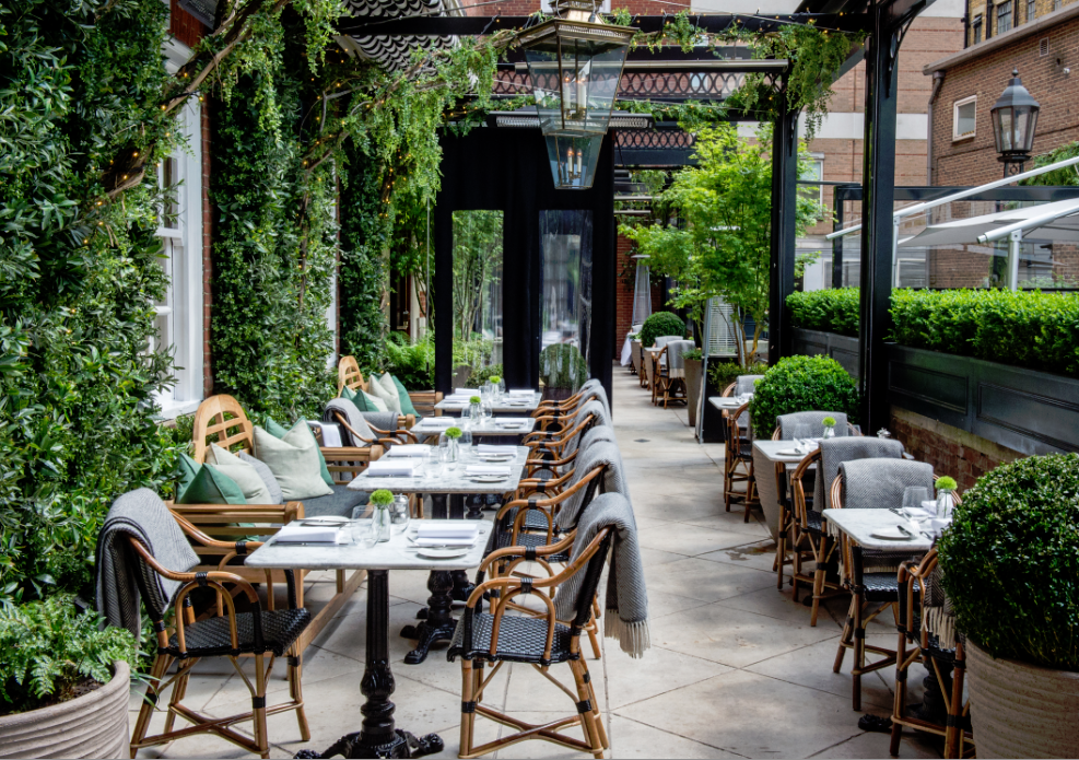 Dalloway Terrace - London Food Blog