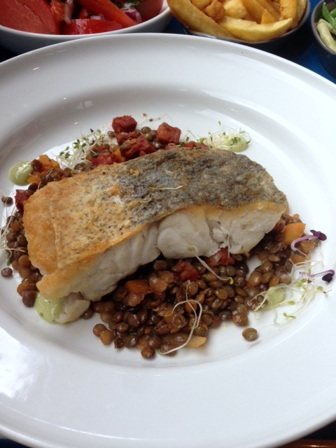 Inn The Park - London Food Blog - Hake