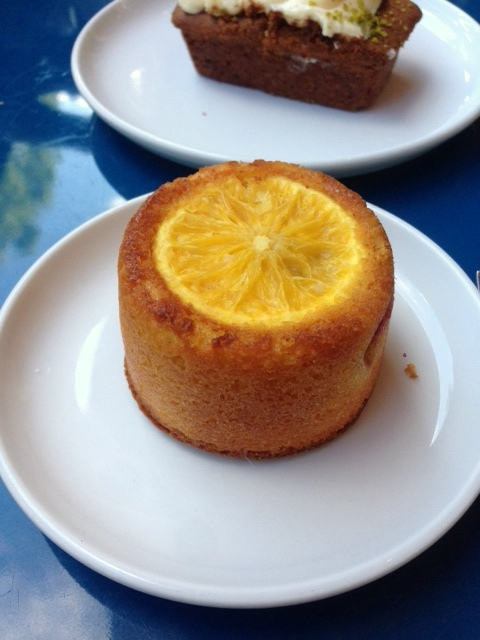 Inn The Park - London Food Blog - Orange & plum cake