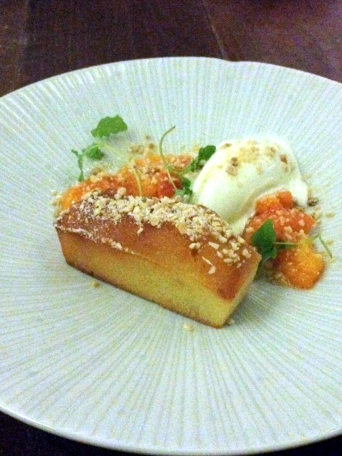Picture Marylebone - London Food Blog - Warm almond cake