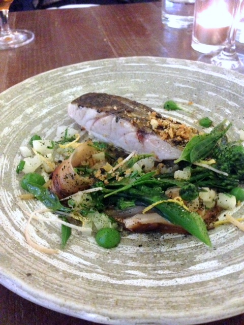 Picture Marylebone - London Food Blog - Stone bass