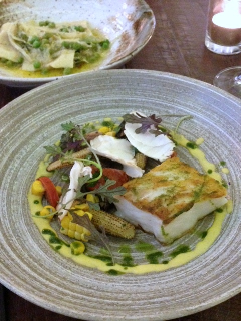 Picture Marylebone - London Food Blog - Cod with corn