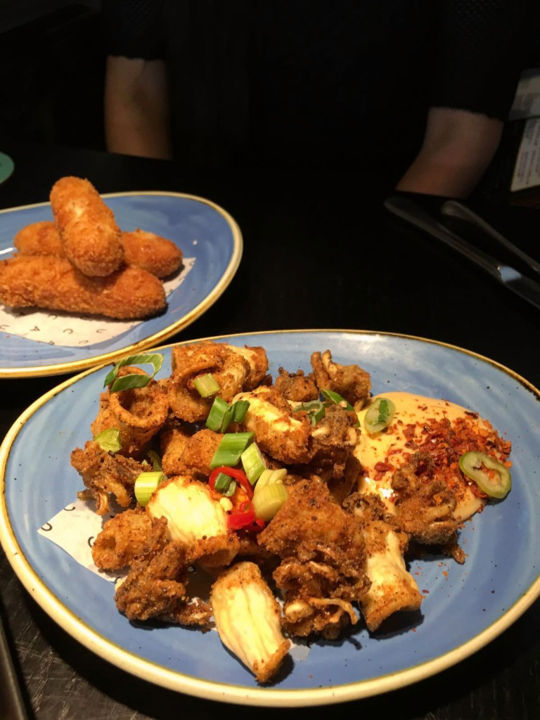 Cau St Katharine Docks - London Food Blog - Salt & pepper squid