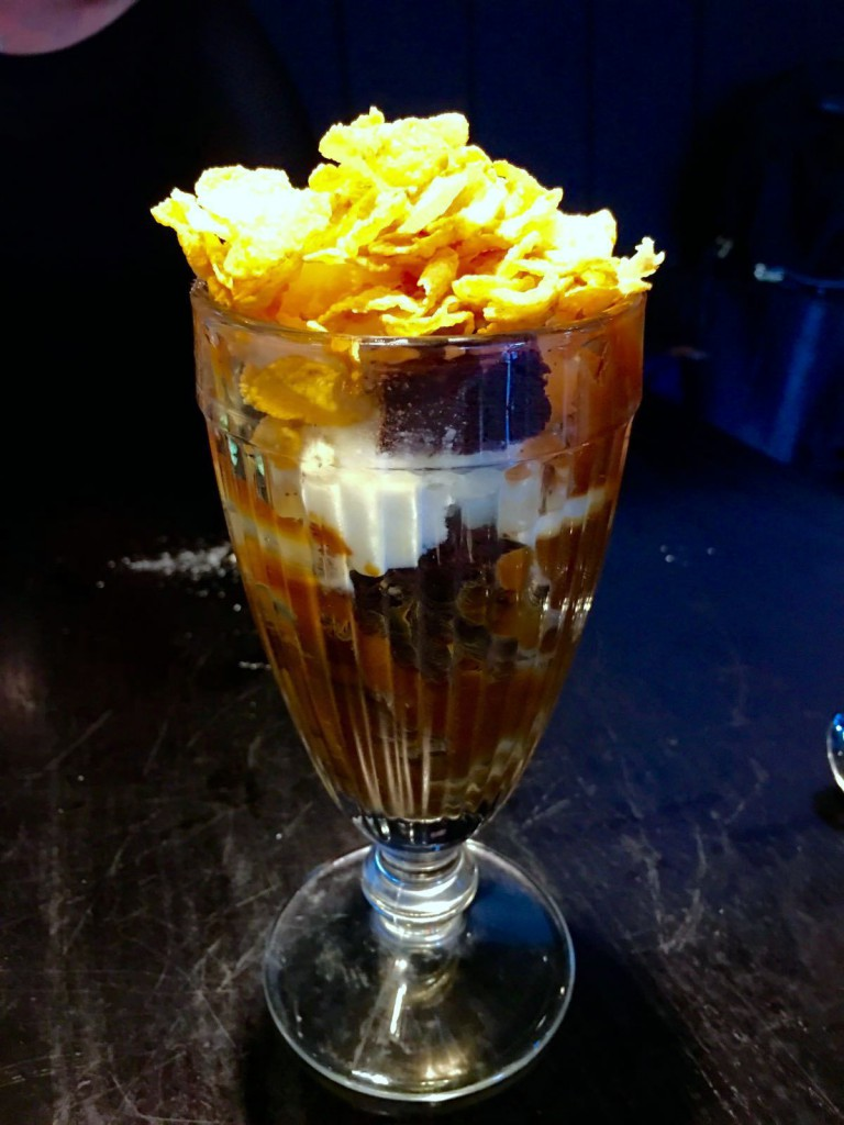 Cau St Katharine Docks - London Food Blog - Cornflake sundae