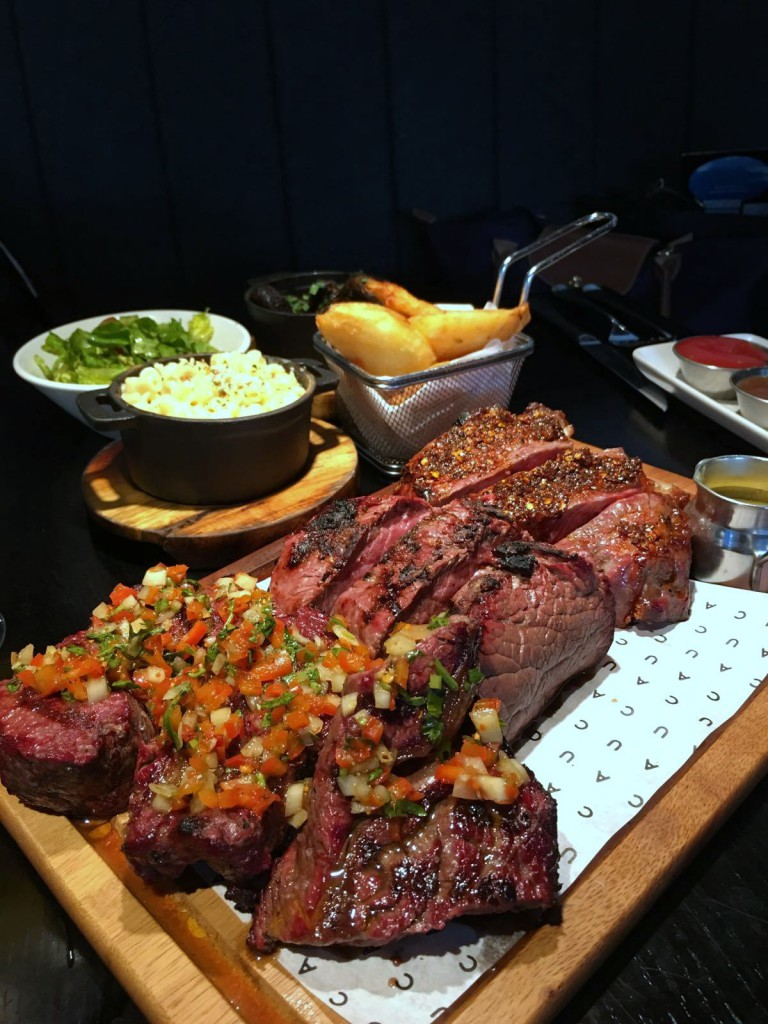 Cau St Katharine Docks - London Food Blog - Cau feasting platter