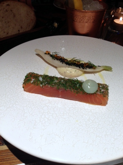 Social Eating House - London Food Blog - Salmon