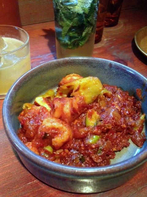 Hoppers - London Food Blog - Devilled shrimps