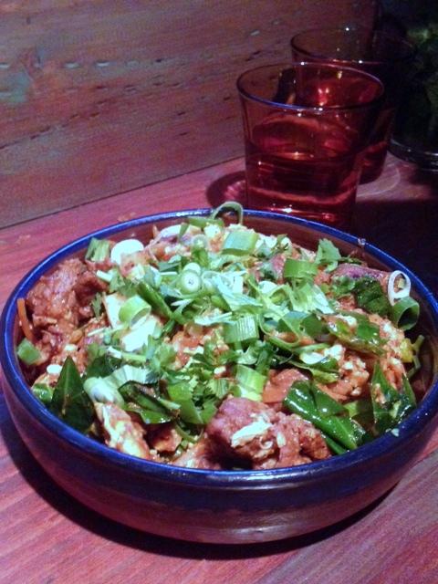 Hoppers - London Food Blog - Lamb kothu roti