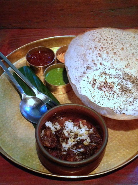 Hoppers - London Food Blog - Pork kari & egg hopper