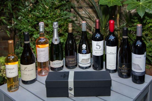 Visit Stellenbosch & TheLondonFoodie - Selection of Stellenbosch wines