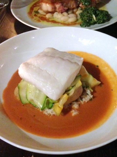 Noble Rot - London Food Blog - Braised turbot