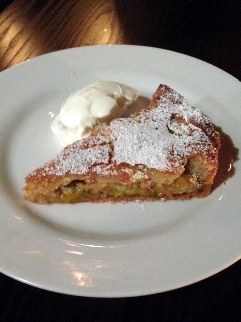 Noble Rot - London Food Blog - Greengage & hazelnut tart