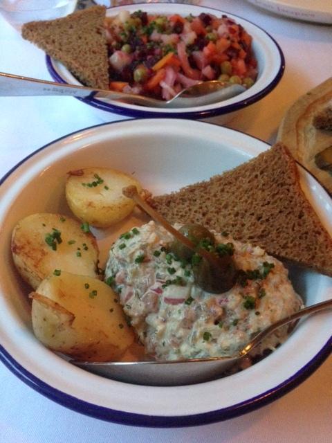 Zima - London Food Blog - Beef & vension tartare