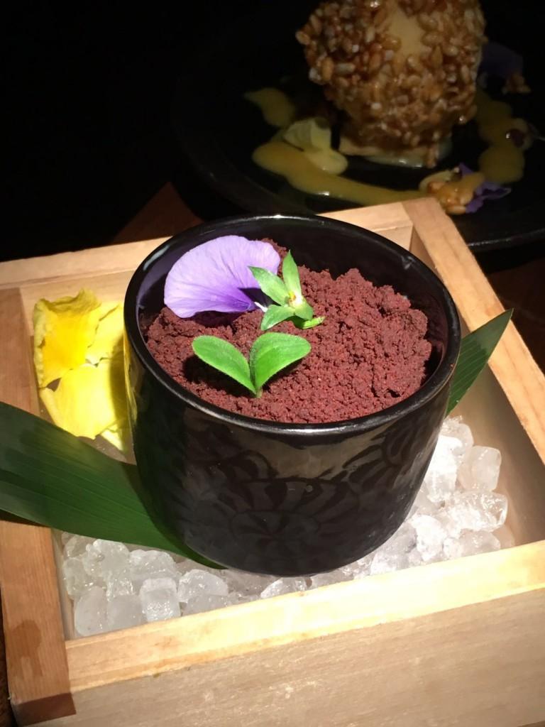 Koji - London Food Blog - Banana ice cream, oreo crumble
