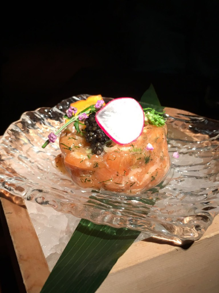 Koji - London Food Blog - Salmon tartare