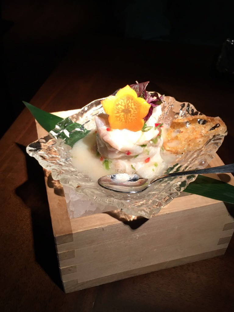 Koji - London Food Blog - Turbot ceviche