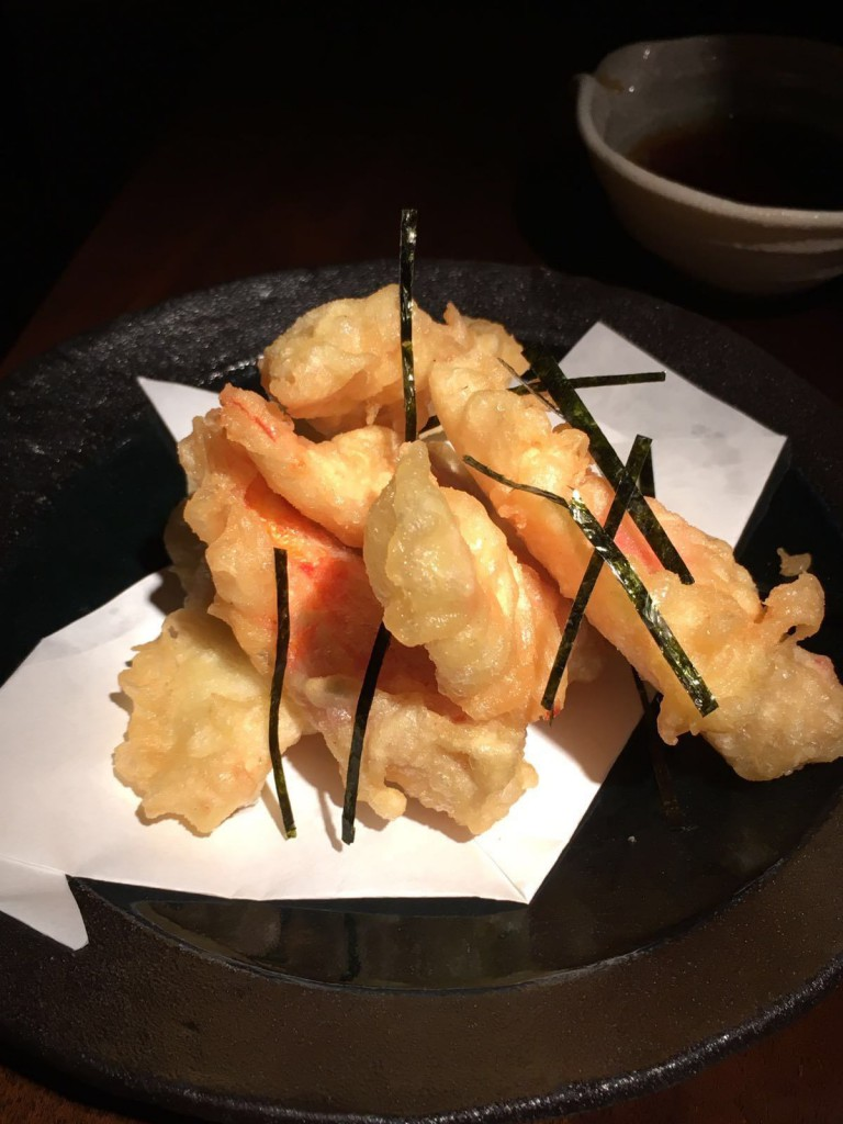 Koji - London Food Blog - Alaskan king crab tempura
