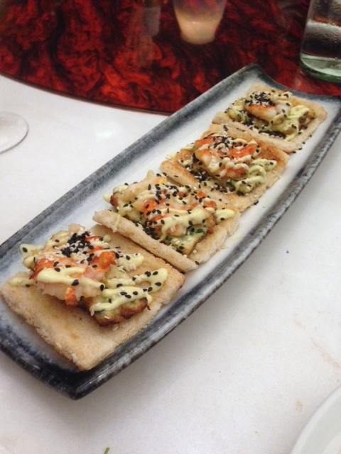 Cha Chaan Teng - London Food Blog - Lobster prawn toast