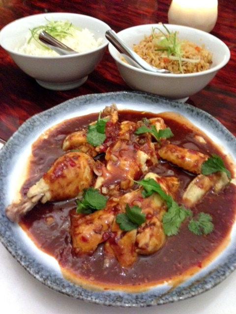 Cha Chaan Teng - London Food Blog - Poached chicken w. spicy Sichuan sauce