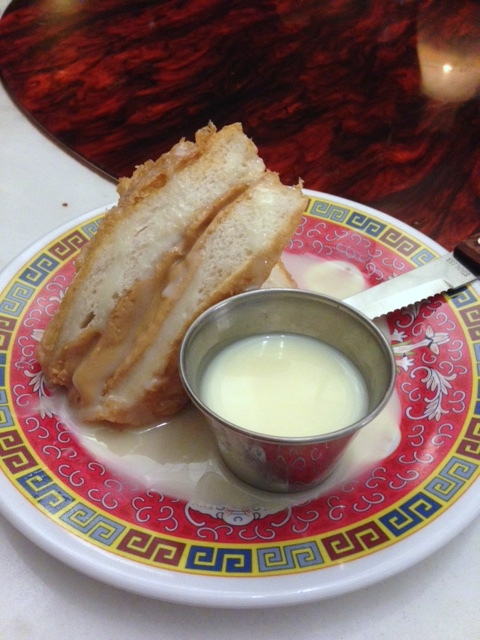 Cha Chaan Teng - London Food Blog - Peanut butter French toast
