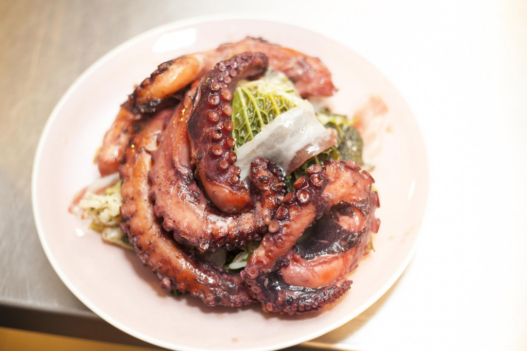 Kino Vino & Lonely Planet - London Food Blog - Octopus