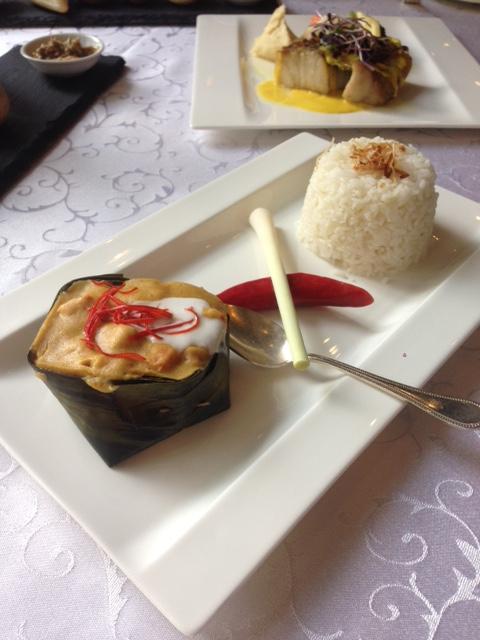 Raffles Hotel Le Royal Phnom Penh - Lobster amok
